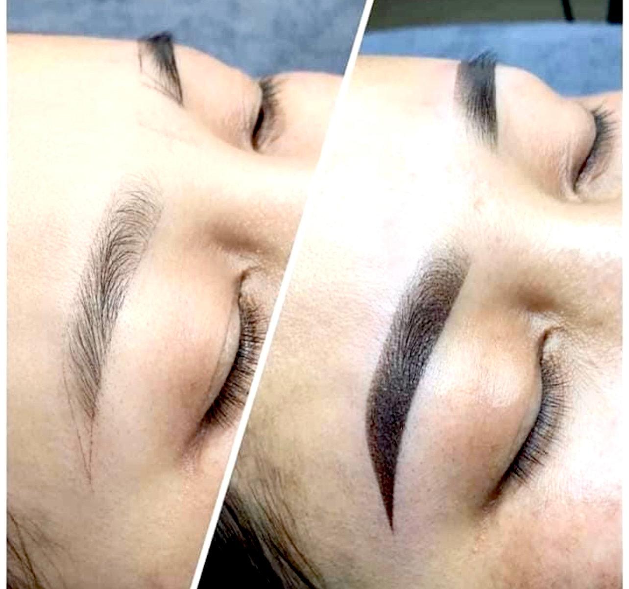 Eyebrow Shading