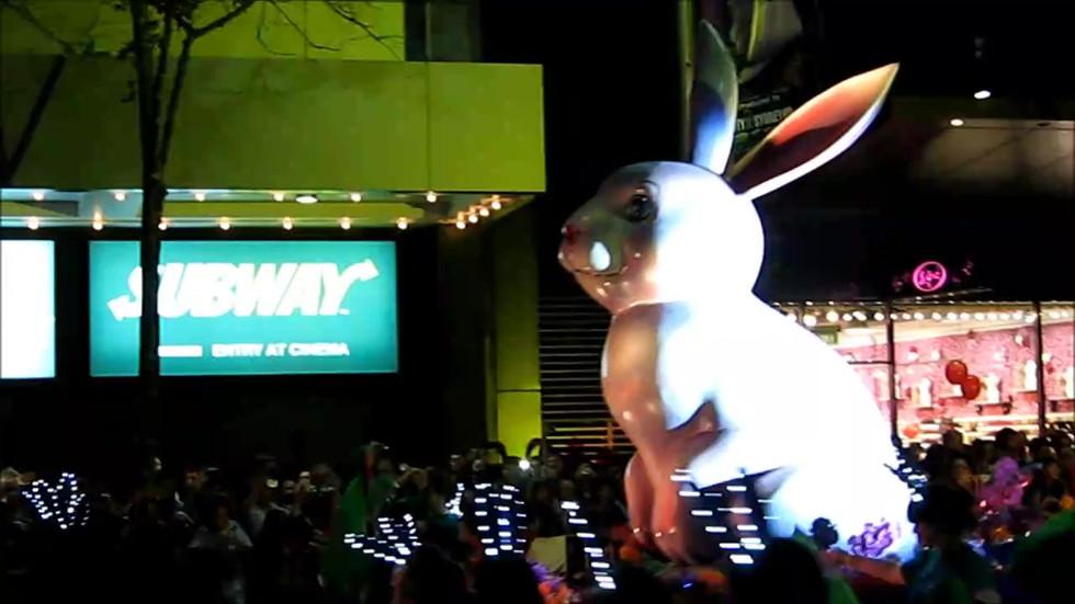 City of Sydney twilight parade 2011