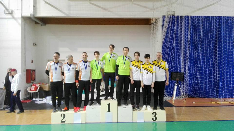 squadra Biscardo-Mallardi-Soloperto - oro assoluti