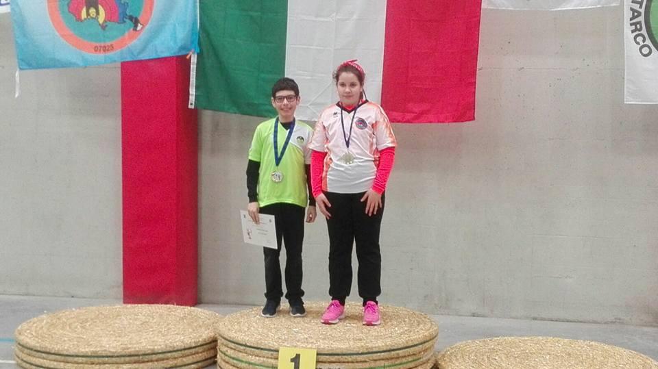 Mattia Gigante - 1° classificato - Arco Olimpico - Ragazzi Prima Media