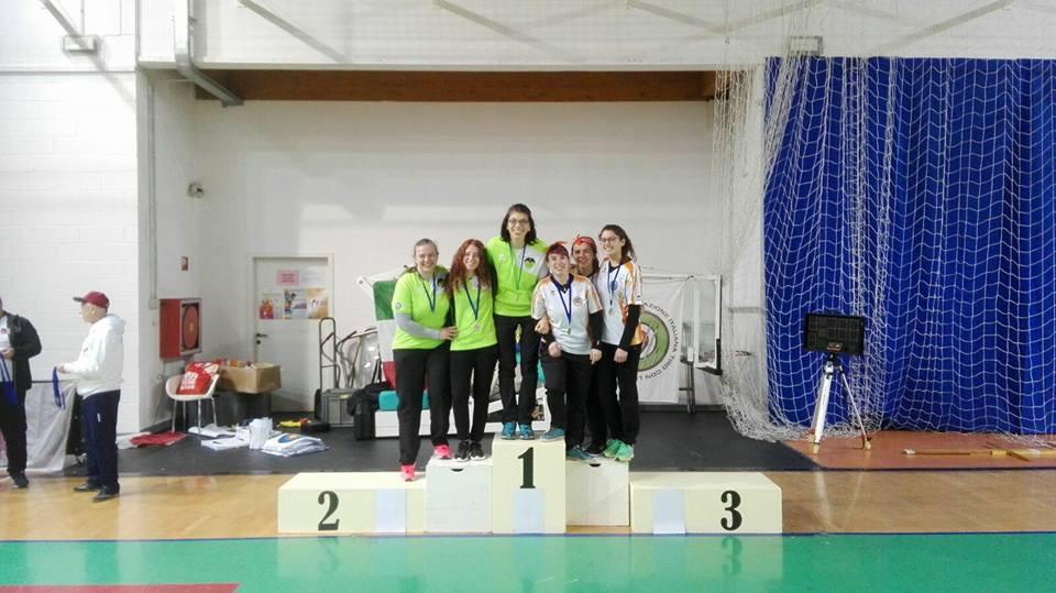 squadra Lonzar-Modugno-Zanni - argento assoluti