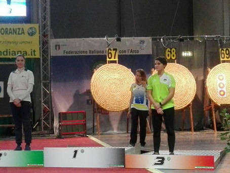 Hervat terza ai campionati italiani a Rimini