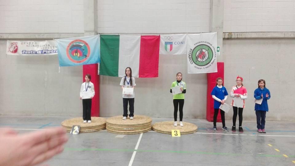 Agnese Leibelt - 3° classificata - Arco Olimpico - Giovanissimi Femminile