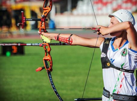 Karen Hervat veste i colori della Nazionale alla European Youth Cup