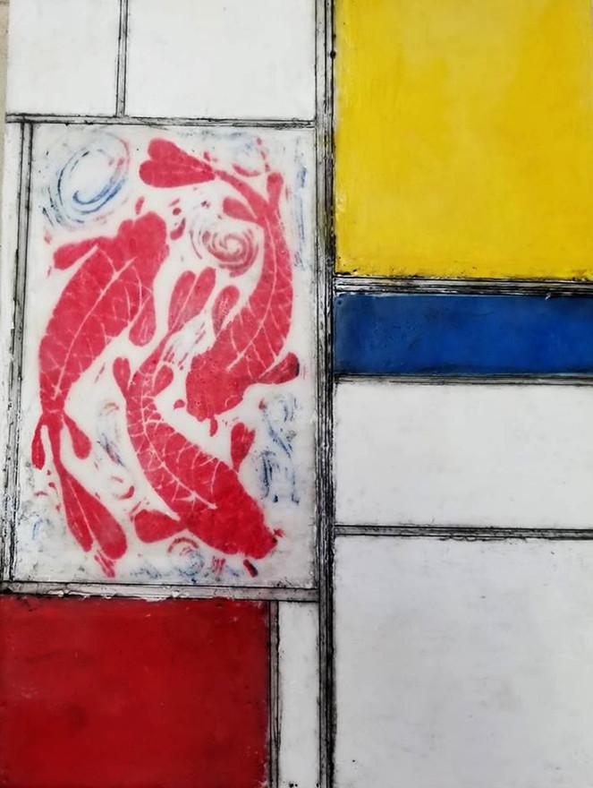 Red Fish Mondrian
