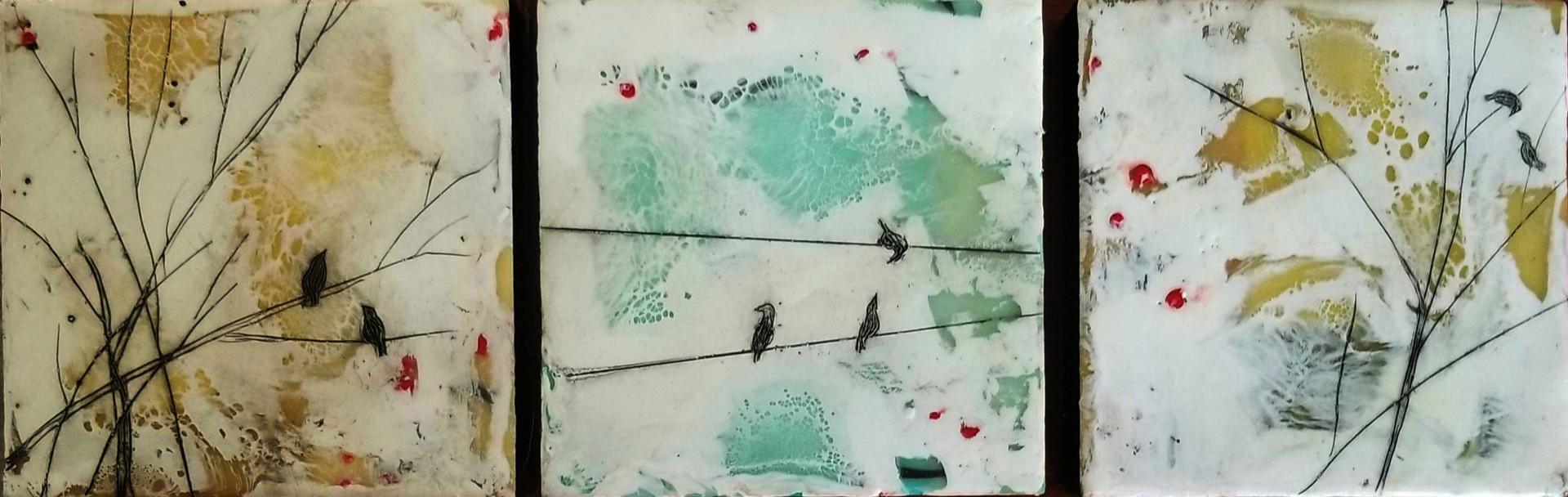 Bird Tryptich