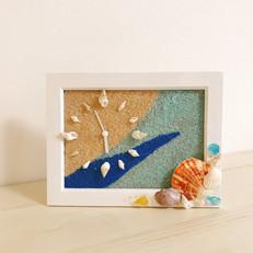貝殻の置き時計作りNacelle