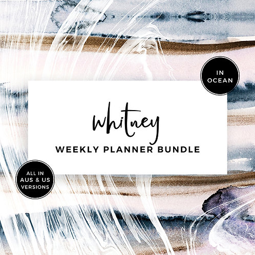 Eliza Ellis Planners, weekly planner, beautiful weekly planner, 2020 weekly planner, best weekly planner, weekly to do