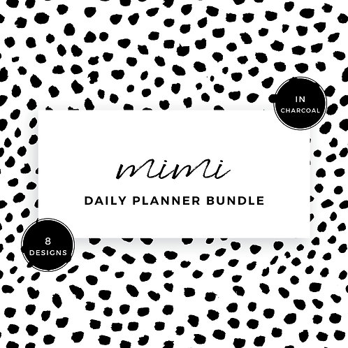 Eliza Ellis Planners, daily planner, daily planner 2020, daily monthly planner, daily task planner, best daily planner