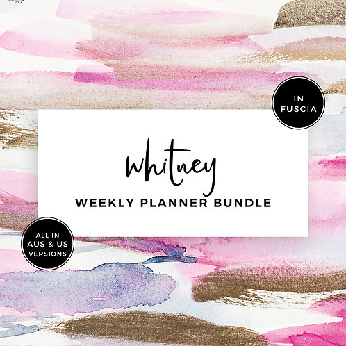 Eliza Ellis Planners, weekly planner, beautiful weekly planner, 2020 weekly planner, best weekly planner, weekly to do