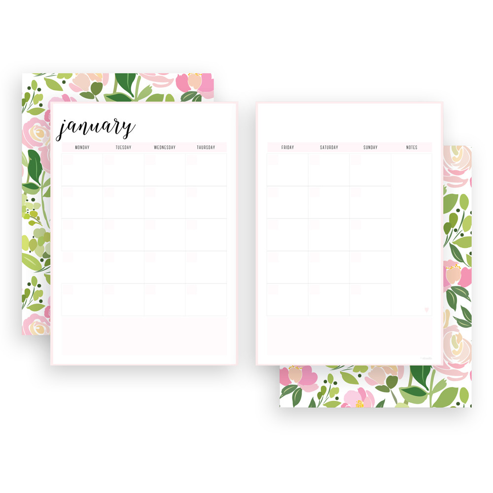 Free Printable Monthly Irma Planners // Eliza Ellis // printable monthly calendar, blank monthly calendar template, free printable calendar templates, printable blank calendar, monthly calendar 2020, free printable calendar, family calendar, family organiser 2020, family calendar 2020, family planner calendar, family wall calendar, wall calendar, wall calendar 2020, wall calendar 2020 australia, blank calendar template 2020, planner printables, monthly calendar printable, student planner, monthly planner, planner printables, planner inserts