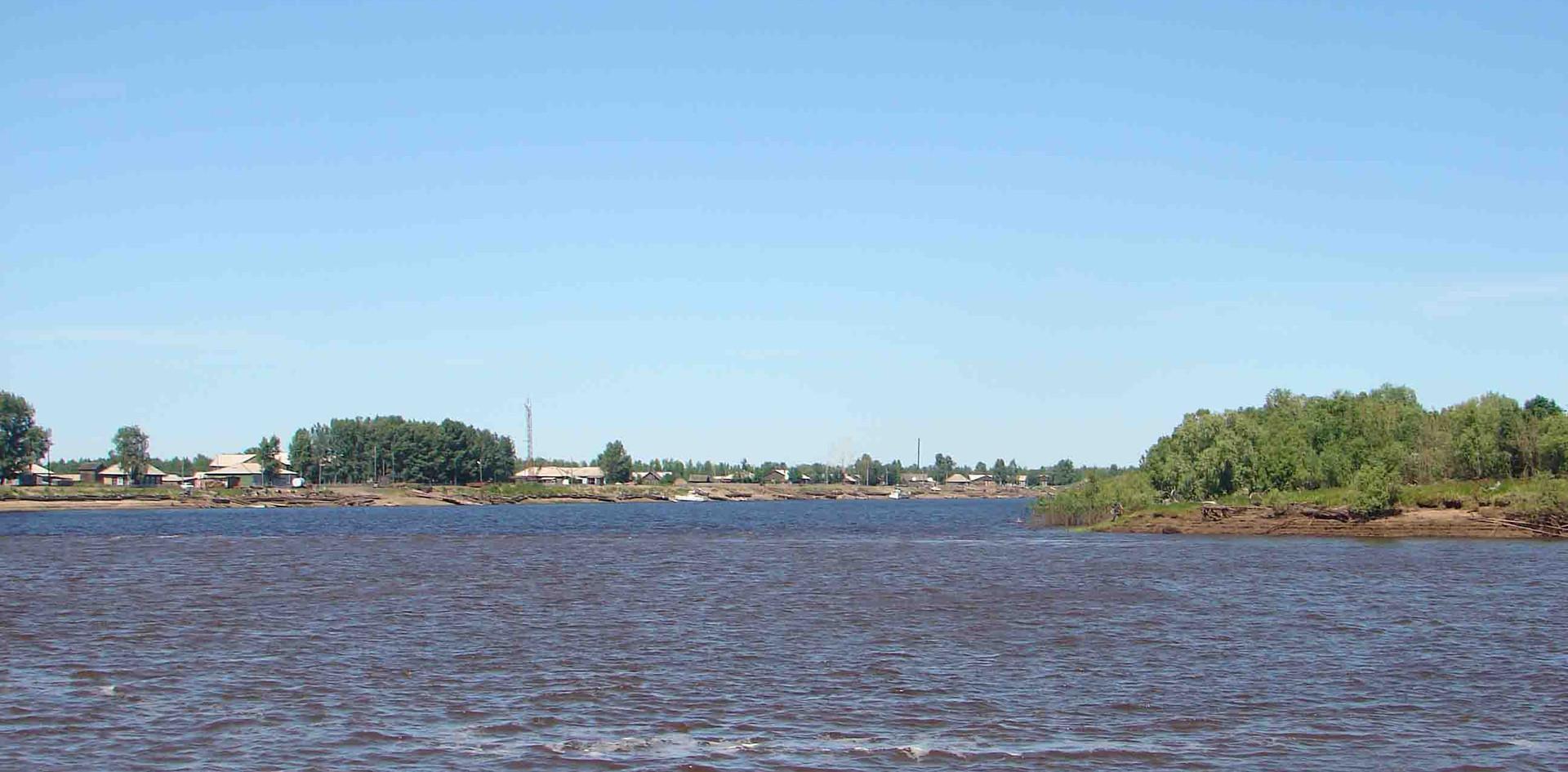 Устье реки Тым. 2006.