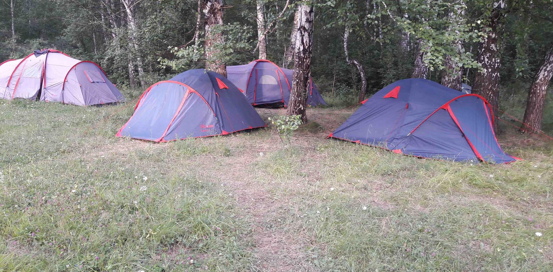 Лагерь. 2018.