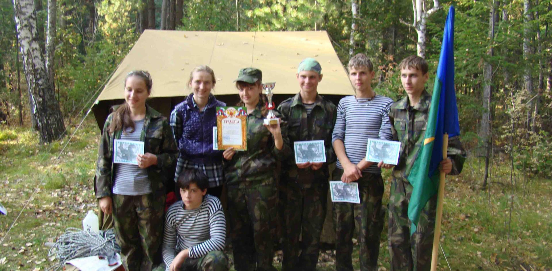 Команда победителей. Лысая гора. 2011.
