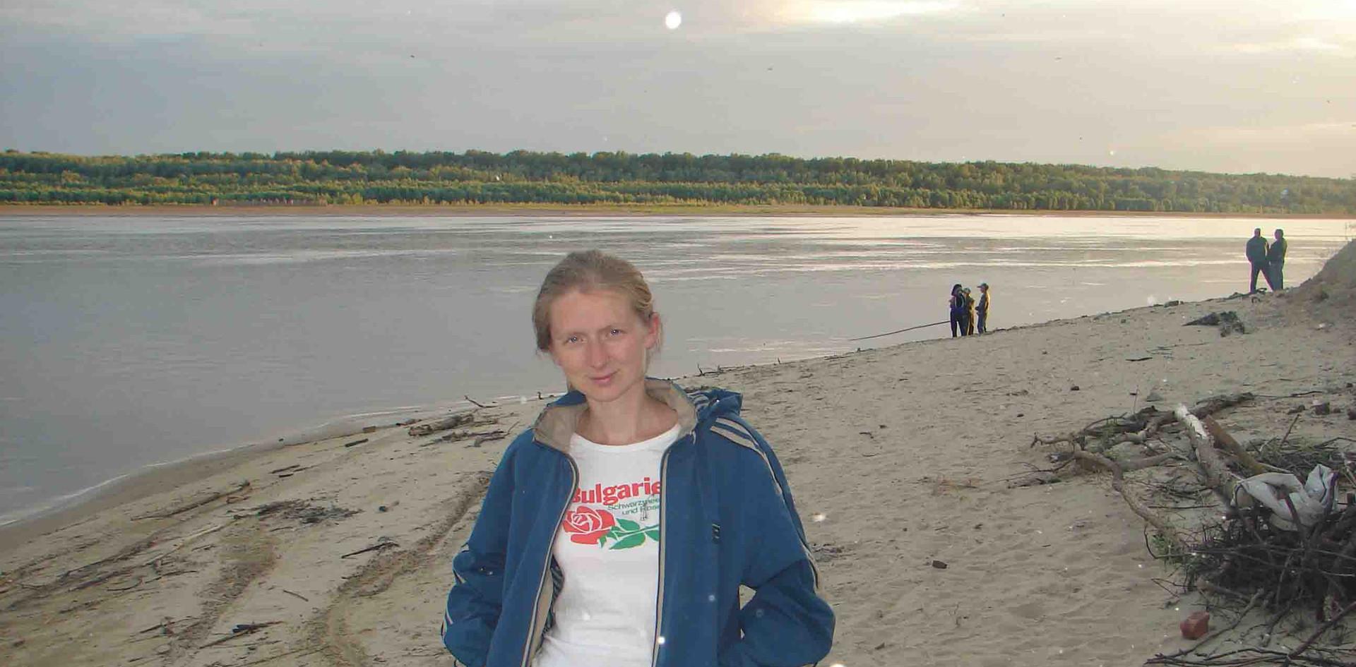 На пристани Тымска. 2006.