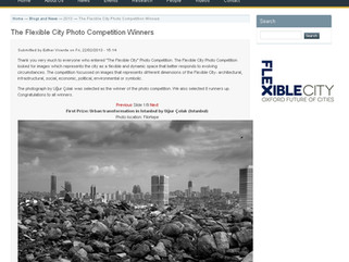 The Flexible City Photo Competition Winners