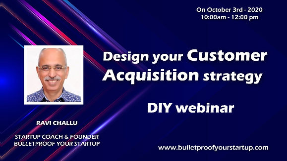 Design Your Customer Acquisition Strategies