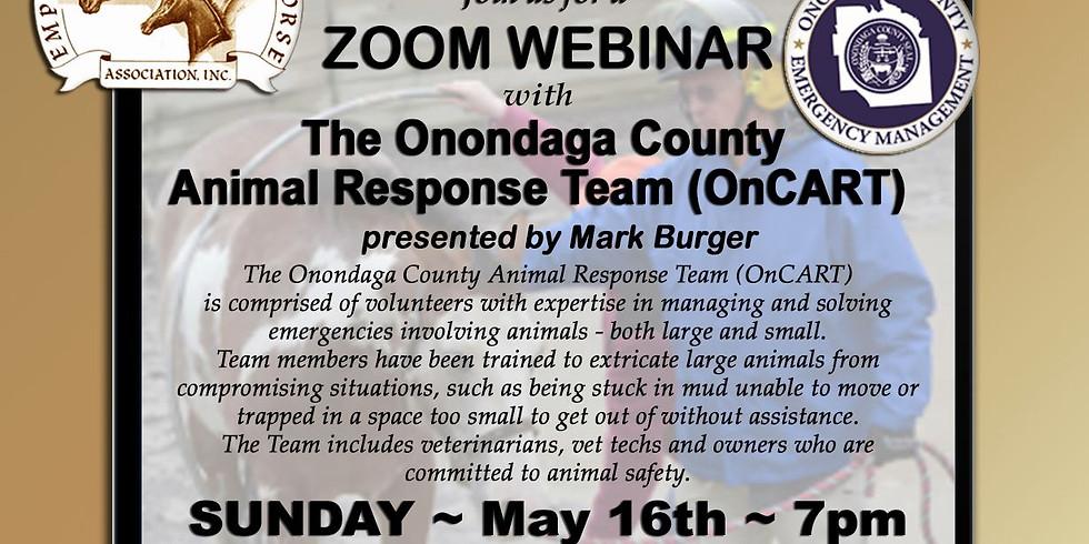Onondaga County Animal Response Team Presentation
