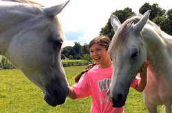 Sophie & horses2