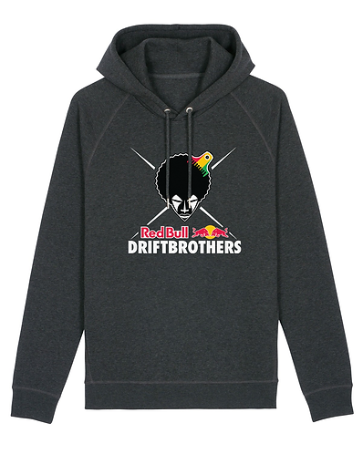 RED BULL DRIFTBROTHERS HOODIE DARK HEATHER GREY