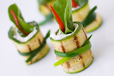 Zucchini Rolls - Commercial kitchen for rent in San Diego