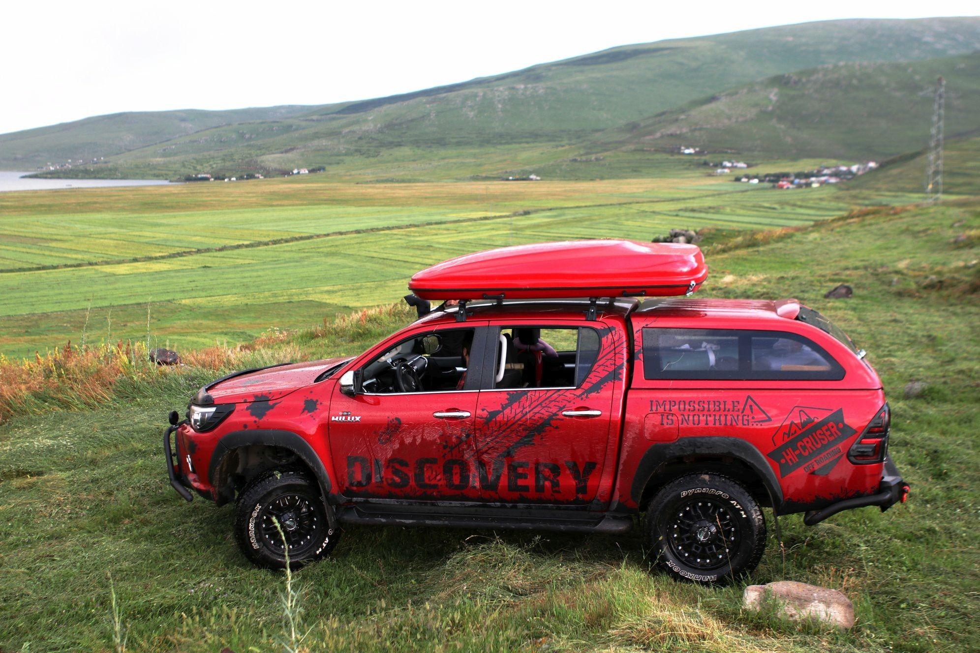 VW AMAROK HARD SHELL ROOFTOP TENT