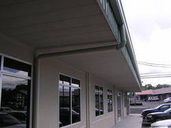Earth Stone™ Steel Soffit Panels