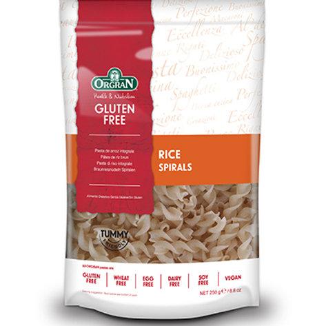 Pasta - GF Rice Spirals ORGRAN 250g