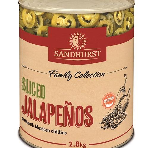 Jalapeño Sliced BULK 2.8kg