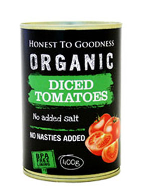Tomatoes Diced ORGANIC 400g