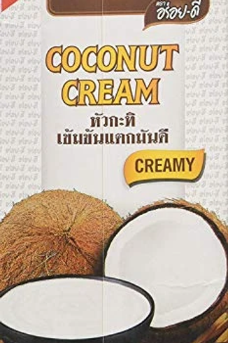 Coconut Cream UHT - Aroy-D 1L