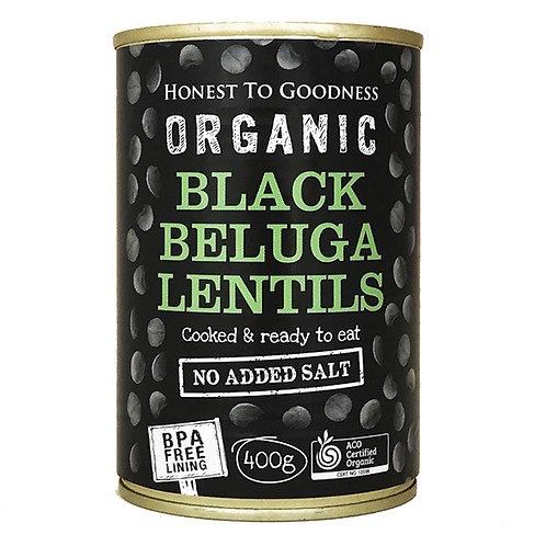 Lentils Black Beluga ORGANIC 400g