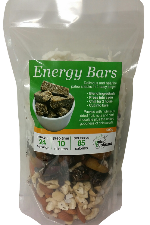 Chia Energy Bars 500g