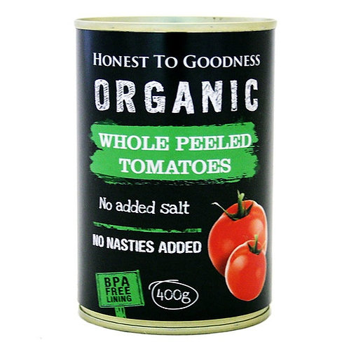 Tomatoes Whole ORGANIC 400g