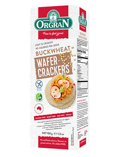 Buckwheat Crackers 100g