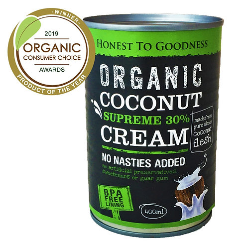 Coconut Cream 30% ORGANIC 400ml