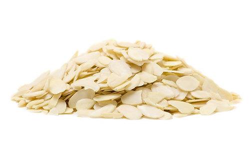 Almonds Blanched Sliced 1kg
