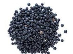 Lentils Black Beluga ORGANIC 1kg