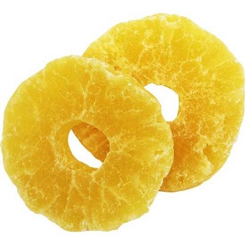 Pineapple Rings Dried 1kg