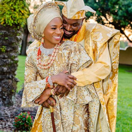 Kola and Latifat: Yoruba Traditional Wedding