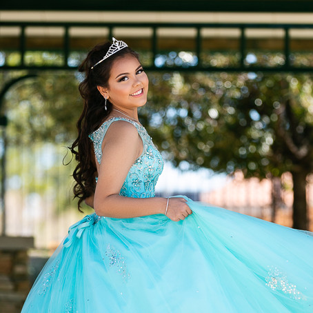 Cathelene's Tiffany and Co. Themed Quinceanera