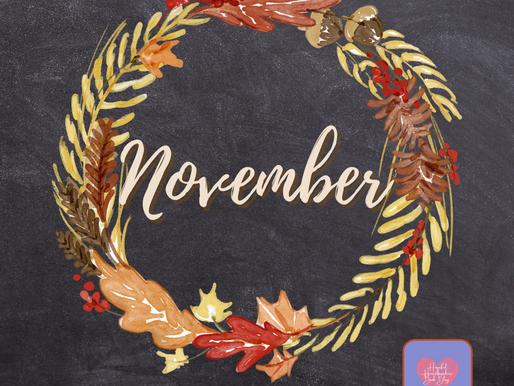 November's New Releases