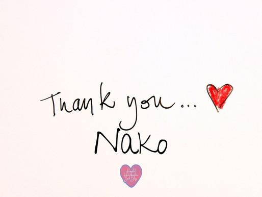 Thank you Nako