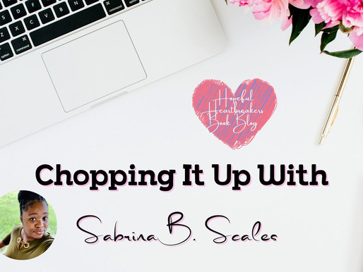 Chopping it up with Sabrina B Scales