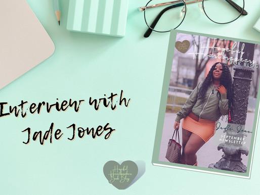 Interview with Jade Jones