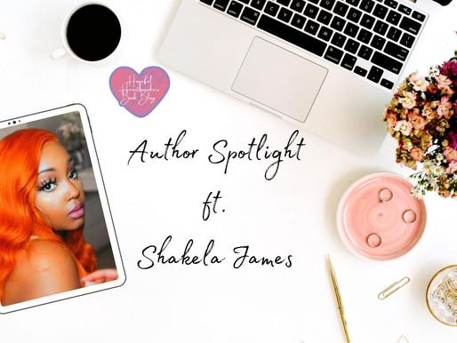 Author Spotlight ft. Shakela James