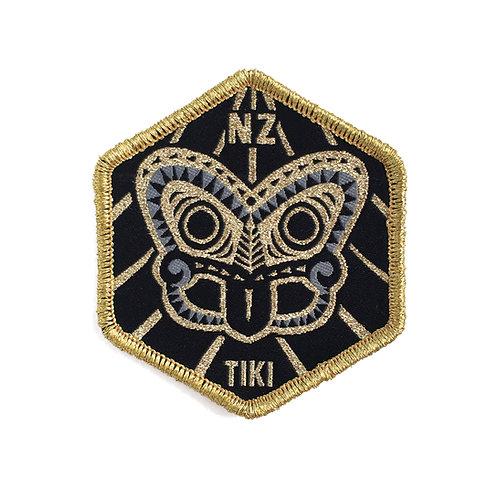 Iron-on Patch - Tiki Gold