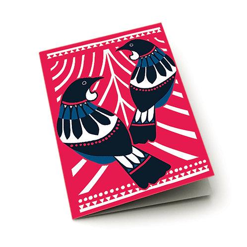 Greeting Card - Scandi Tui