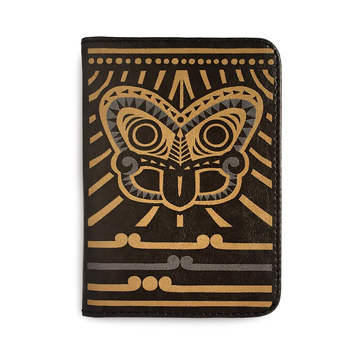 Passport Holder - Tiki Gold