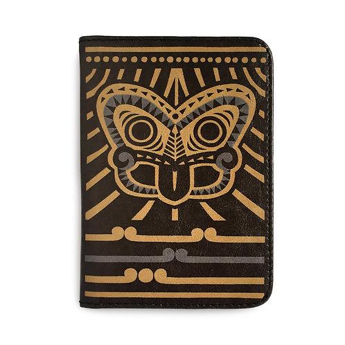 Passport Holder - Tiki Gold